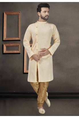 Beige Colour Stylish Designer Kurta.