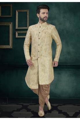 Silk Designer Indowestern.