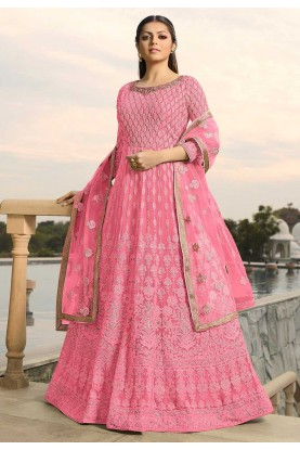 Pink Colour Designer Salwar Suit.