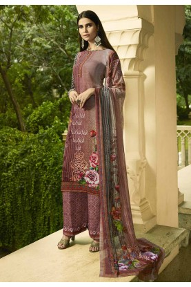 Multi Colour Casual Salwar Suit.