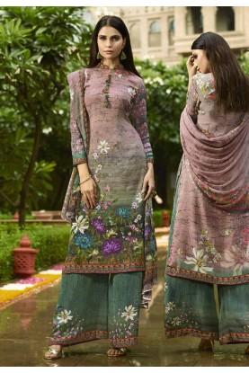 Casual Salwar Suit in Digital Print.