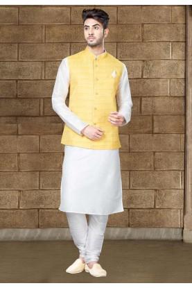 Buy Off white Indian kurta pajama online