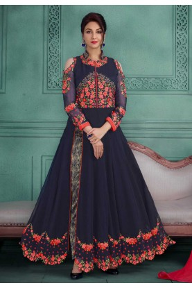 Beautiful Salwar Kameez in Blue Color