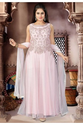 Pink Color Designer Salwar Suit.