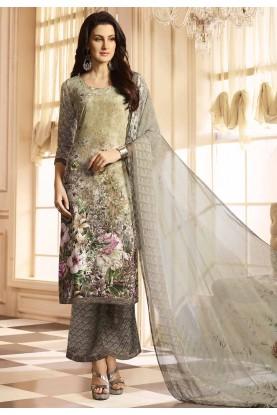 Multi Color Casual Salwar Kameez.