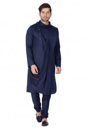Blue Color Stylish Kurta Pajama.