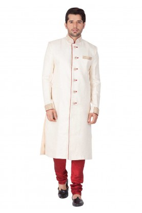 Buy designer kurta pajama in Golden Color