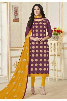 Buy Magenta Colour Indian salwar suit Online