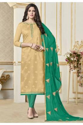 Buy Beige Colour Indian Salwar kameez online India