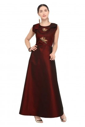 Brown Colour Party Wear Stylish kurti online