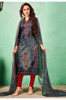 Designer multi Indian salwar kameez online