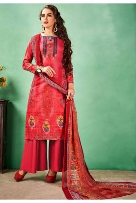 Buy salwar kameez online in red colour