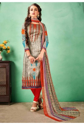 Buy Multi Colour Printed Salwar Kameez