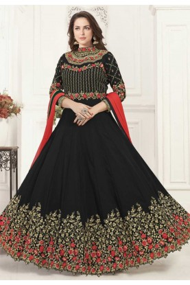 Black Colour Bollywood Salwar Kameez Online