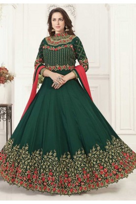Green Colour Bollywood Salwar Kameez Online