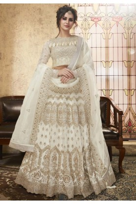 Get off white Lehenga online in usa
