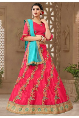 Get Red Colour Bridesmaid lehenga online