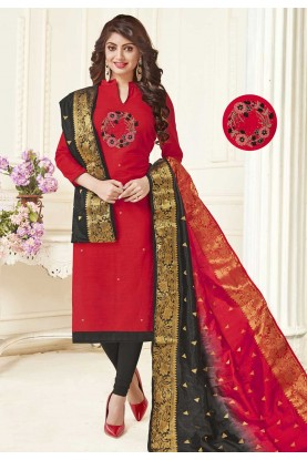 Red Colour Designer Indian Salwar Kameez Online