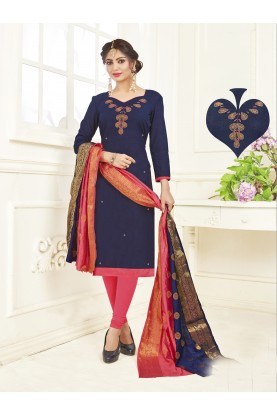 Buy Salwar Kameez Online in Blue Colour