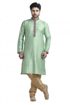 Silk: Buy Designer Kurta Pajama Online in Bhagalpuri