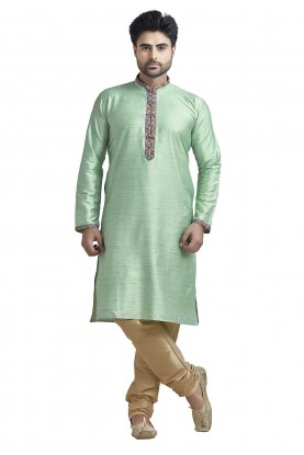 Bhagalpuri Silk Kurta Pajama.