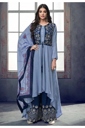 Buy Exclusive Blue Colour Designer Indian Salwar Kameez Online