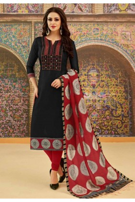 Buy Black Colour Party Wear Indian Salwar Kameez Online