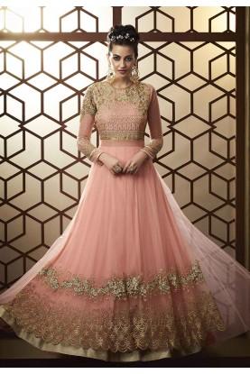 Buy salwar kameez online in pink colour