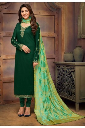 Green Colour Designer Salwar Suit.