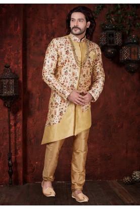 Cream Colour Indian Designer Indowestern.