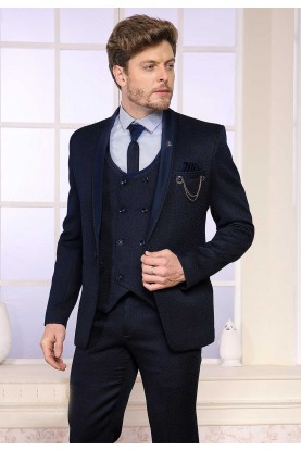Elegant Blue Colour Designer Suit.