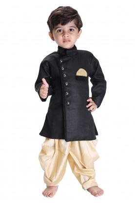 Black Colour Readymade Kurta Pajama.