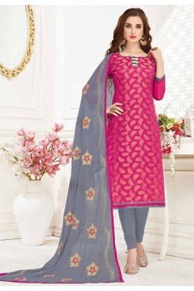 Pink Designer Salwar Suit.