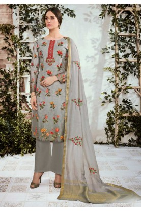 Embroidery Palazzo Salwar Suit.