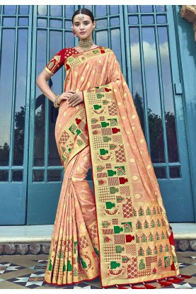 Cream Colour Saree.