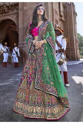 Multi Colour Women's Lehenga Choli.