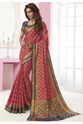 Multi Colour Weaving Sari.