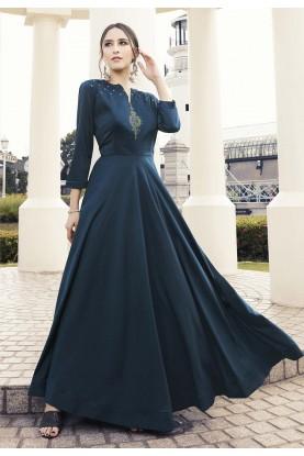 Designer Kurti Blue Colour.