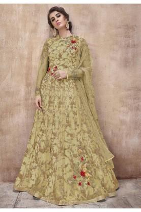 Indian Designer Salwar Suit Green Colour.