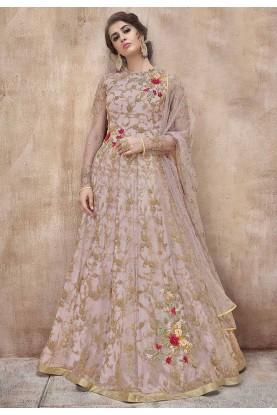Baby Pink Colour Designer Salwar Suit.