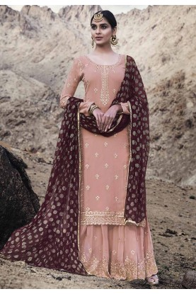 Baby Pink Colour Salwar Suit.
