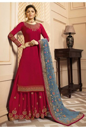 Red Colour Designer Salwar Kameez.