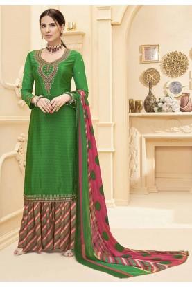 Green Colour Designer Salwar Suit.