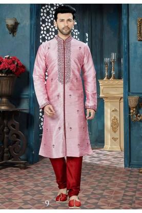 Pink Color Readyamde Kurta Pajama.