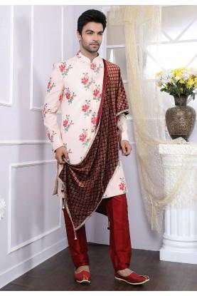 Pink Designer Indowestern.