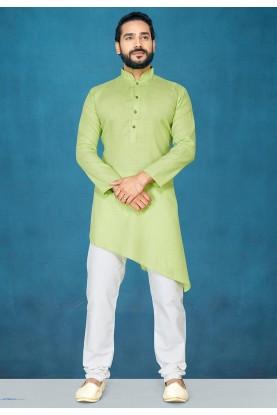 Light Green Colour Stylish Kurta Pajama.
