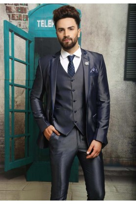 Best Wedding Suits for Men in Impressive Three Piece Suit