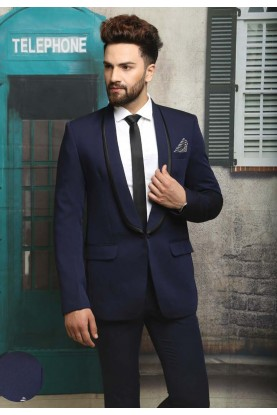 Best Wedding Suits for Men in Blue Color