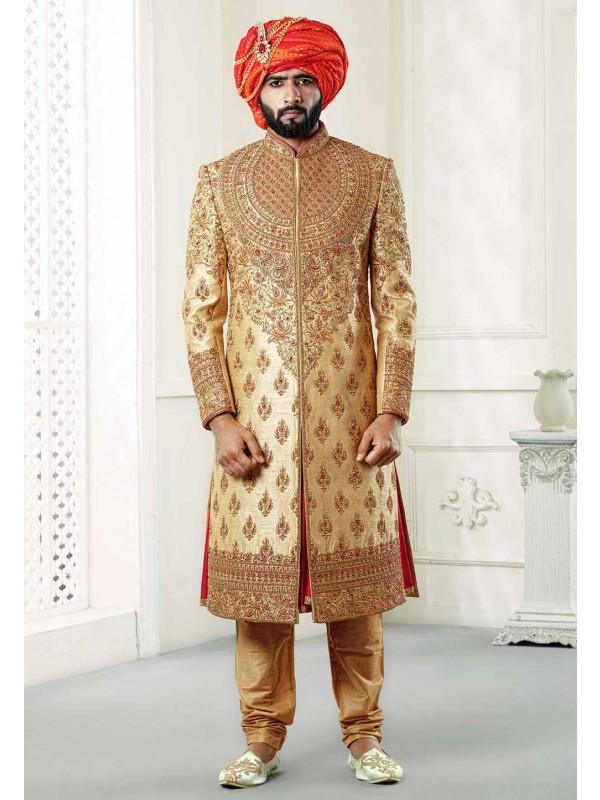 Royal Wedding Sherwani for groom.