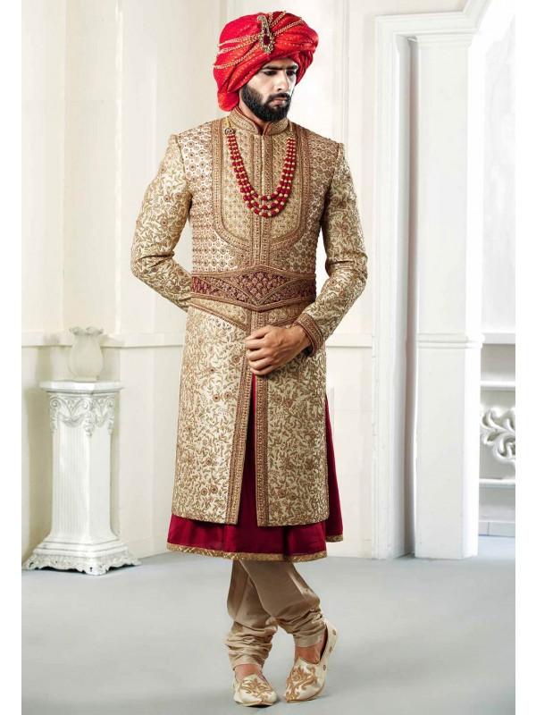 Majestic Royal Sherwani.